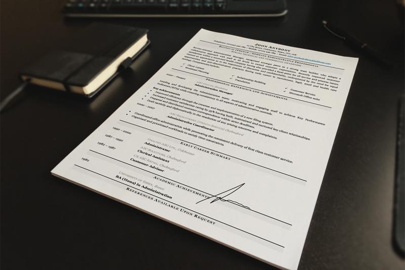 CV writing tips i4 Recruitment