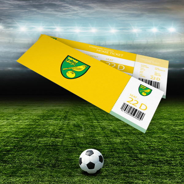 Norwich City Tickets Auction