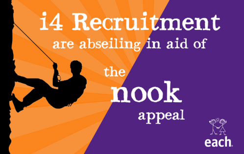 i4 Recruitment Are Abseiling in Aid of EACH Charity