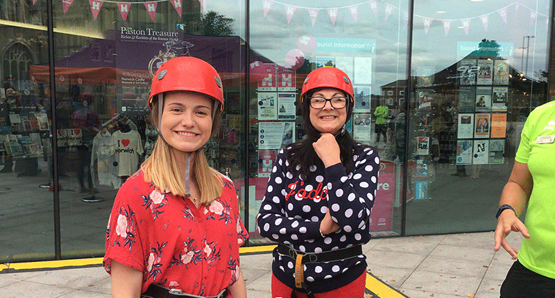 East Anglia's Children's Hospices Charity Abseil
