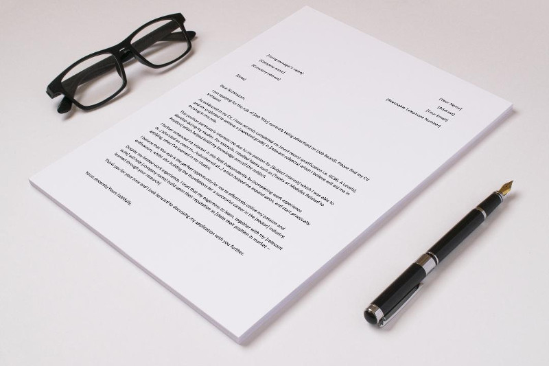 First Job cover letter template i4 recruitment