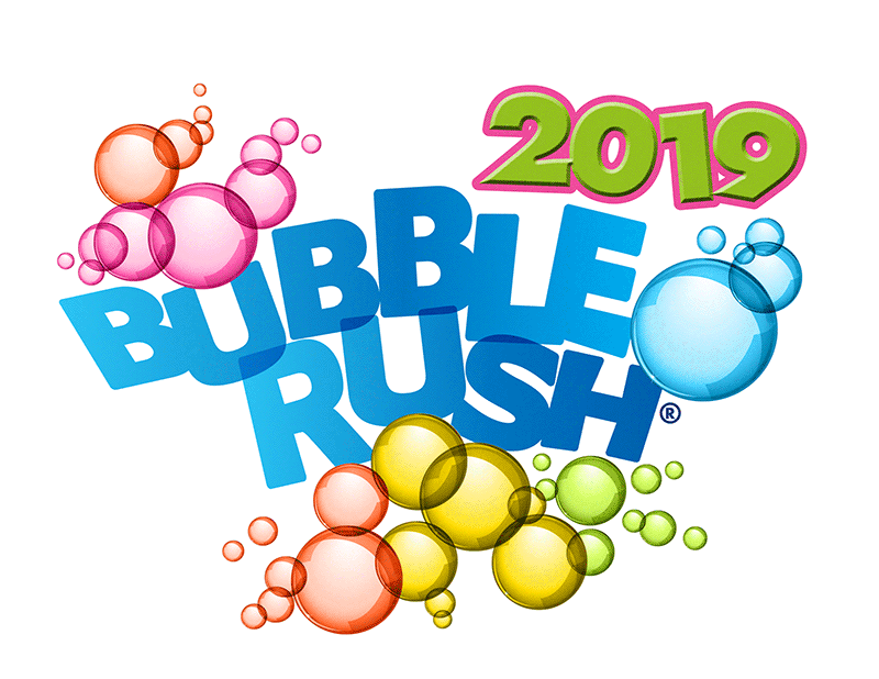 Bubble Rush Logo EACH Charity