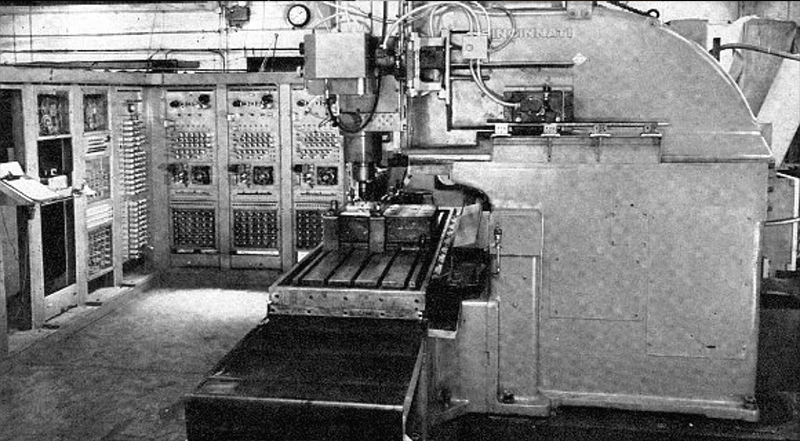 CNC Jobs in Norwich - Punch Tape Programmable Metal Mill from 1952