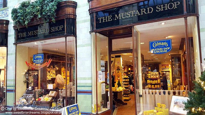Colman's Mustard Shop Work in Norwich