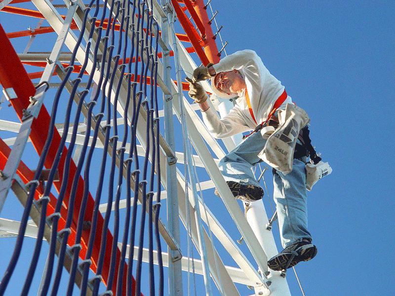 Dangerous Engineering Jobs - Tower Climber