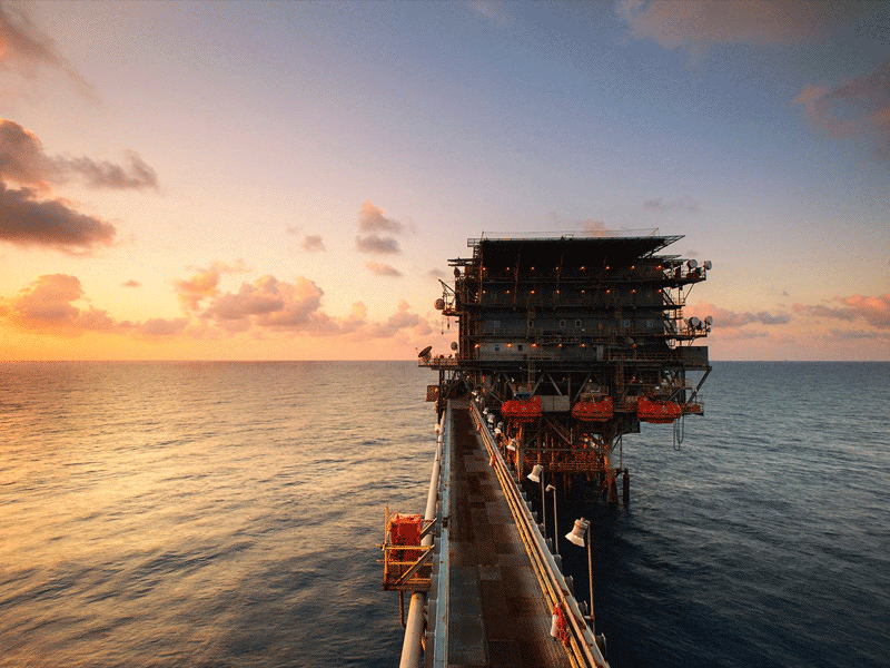 Oil Rig Diving