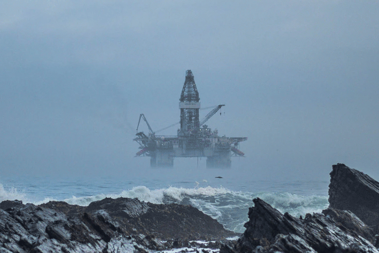 Petroleum Engineering - Offshore Oil Rig